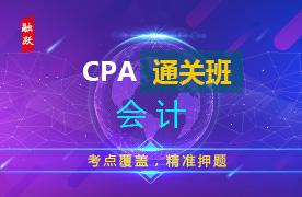 CPA名师通关班(精讲+习题+冲刺)--会计图片
