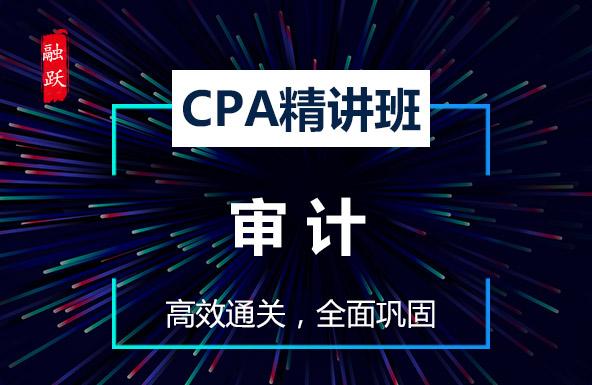 CPA名师精讲班--审计