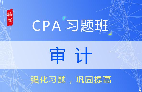 CPA名师审计习题班