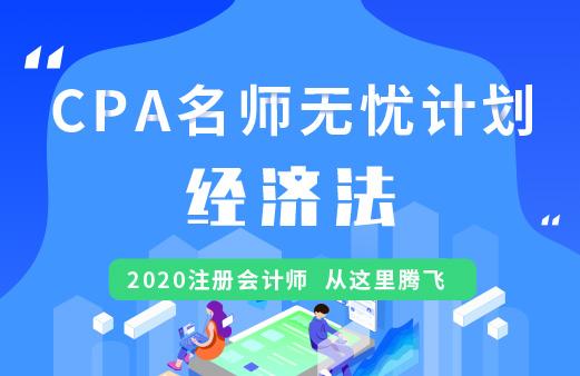 CPA名师无忧班(导学+基础+精讲+习题+冲刺)--经济法图片