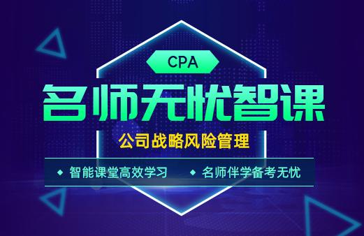 2021年CPA名师无忧智课-公司战略风险管理图片