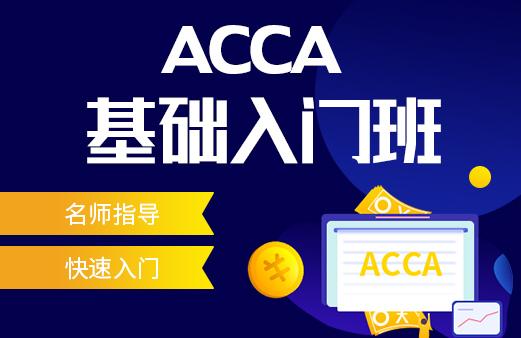 ACCA基础入门班